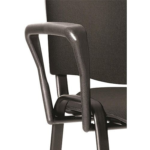 Arm Set Black for Stacking Chairs