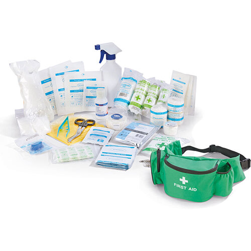 Click Medical Personal Sports First Aid Kit in Bumbag Ref CM0060