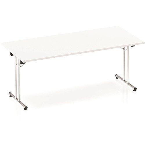 Rectangular Folding Table White W1800xD800mm