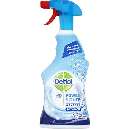 Dettol Power &Pure Bathroom Cleaner Spray 750ml Ref RB788783
