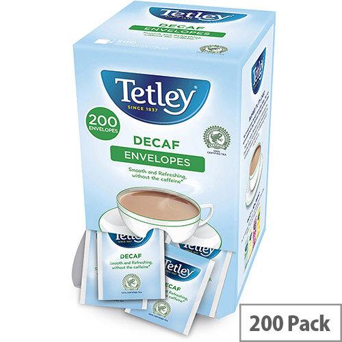Tetley Tea Bags Decaffeinated Ref 1160A (Pack 200)