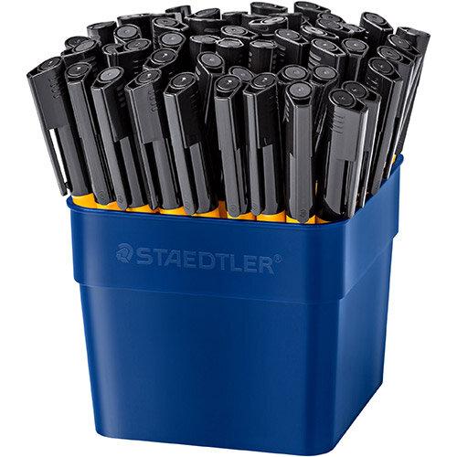 Staedtler Handwriting Pens Black Ref 309-9 T50 Pack of 50