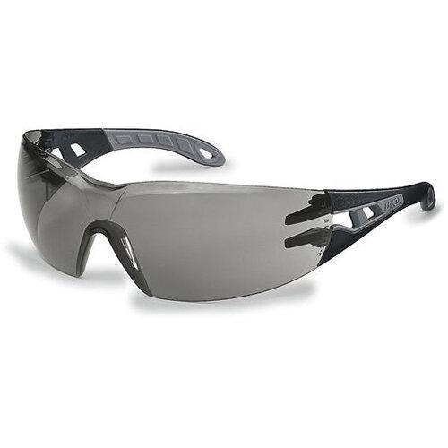 Uvex Pheos Safety Spec Grey Ref 9192-285 Pack of 5