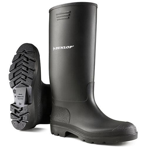 Dunlop Pricemastor Wellington Boot Size 10 Black Ref BBB10