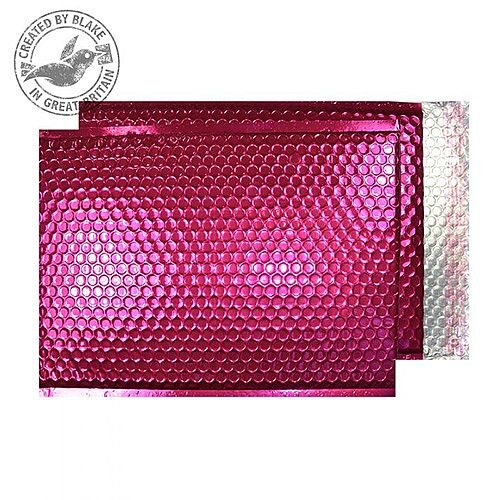 Purely Packaging Padded Envelope P& C5+ Metallic Pink Ref MBP250 [Pk 100]