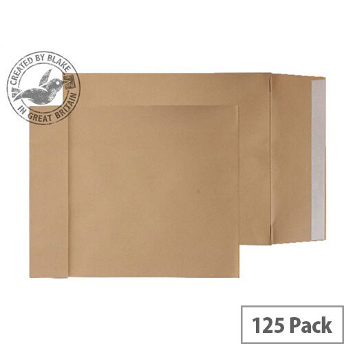 Purely Packaging Envelope Gusset P& 140gsm C3 Manilla Ref G55501 [Pack 125]