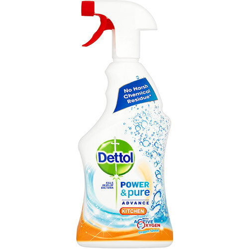 Dettol Power &Pure Advance Kitchen Cleaner Spray 750ml Ref RB788776