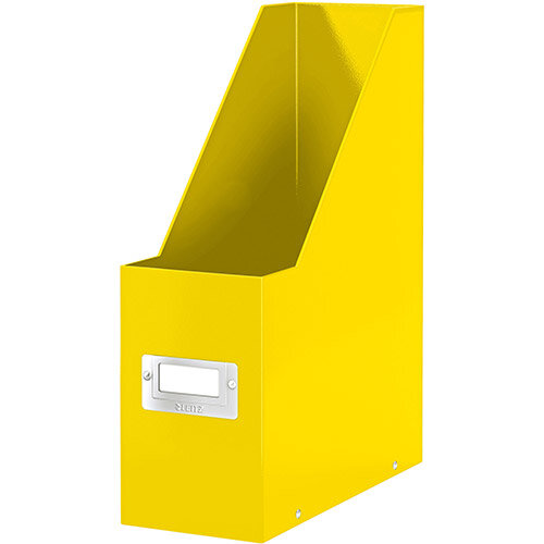 Leitz Click &Store Magazine File Collapsible Yellow Ref 60470016