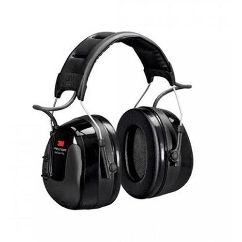3M PELTOR WorkTunes Pro 26dB Ear Defender Headset with AM &FM Radio Headband Style 7100089368 Ref HRXS221A