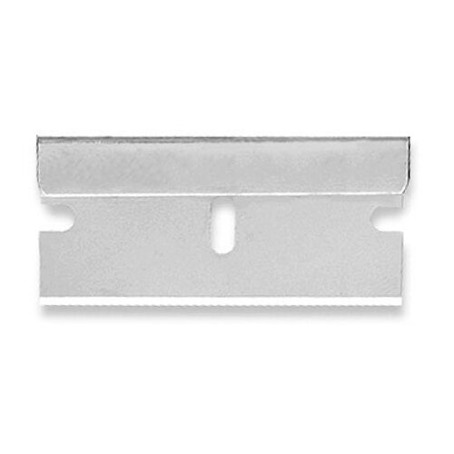 Pacific Handy Cutter Single Edge Blade .009in Thick Silver Ref RB-009 Pack of 100