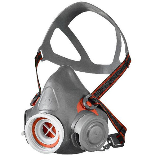 Scott Safety Aviva 50 Single Filter Half Mask Large Grey Ref 8005013
