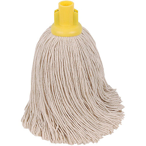 Robert Scott &Sons Socket Mop for Rough Surfaces PY 16oz Yellow Ref PJTYL1610 [Pack 10]