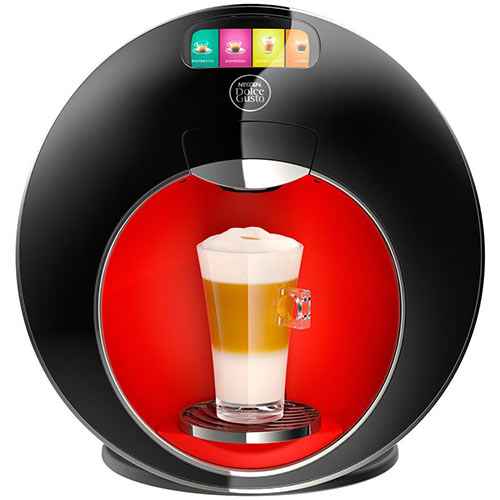 Nescafe Dolce Gusto Majesto Coffee Machine Black/Red Ref 12360980