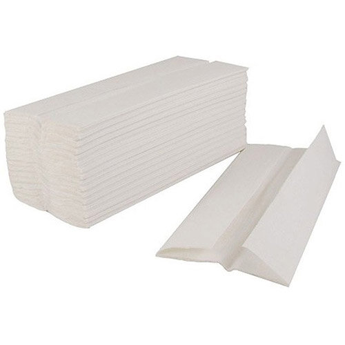 Flushable Hand Towel C-Fold 2-Ply 100 Towels Per Sleeve White Ref 1104015 Pack of 24