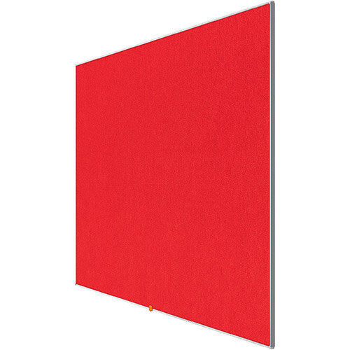 Nobo 85 inch Widescreen Felt Board 1880x1060mm Red Ref 1905313