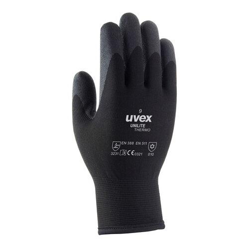 Uvex Unilite Thermo Glove Size 10 Black Ref 60593-10