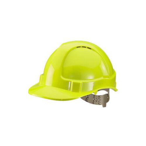 BBrand Comfort Vented Safety Helmet Saturn Yellow Ref BBVSHSY