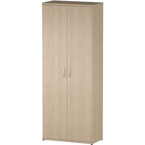 Tall Cupboard With 5 Shelves H2000mm Maple