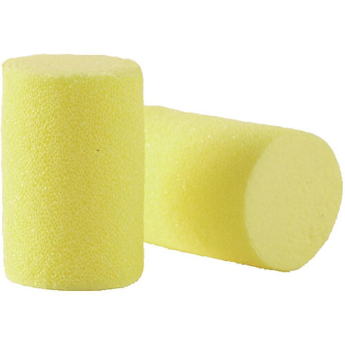 3M E-A-R Classic Roll-Down Earplugs Uncorded 1 x Pillow Pack of 200 Pairs Earplugs Ref EARSPP