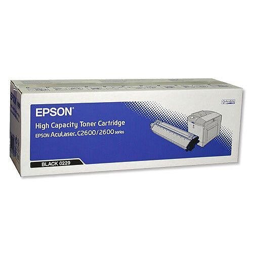 Epson S050229 Black High Capacity Epson Toner Cartridge C13S050229 5,000+ Pages