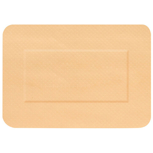 Click Medical Hygioplast Waterproof Large Patch Plasters Beige Pack of 50 Ref CM0533