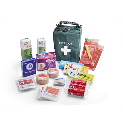 Click Medical Insect Repellent Travel First Aid Kit Ref CM0145