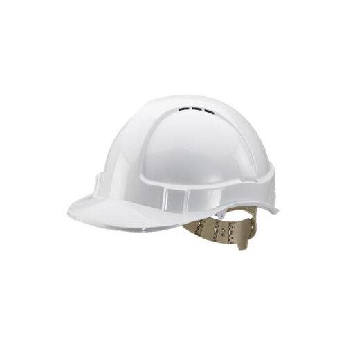 BBrand Comfort Vented Safety Helmet White Ref BBVSHW