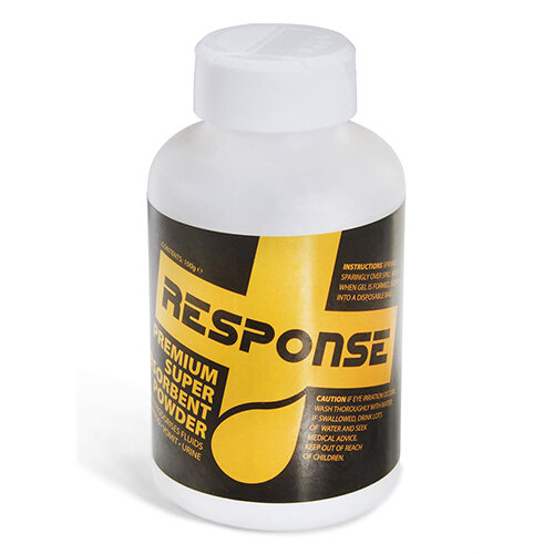 Click Medical Response 100g Body Spill Super Absorbent Powder Ref CM0630