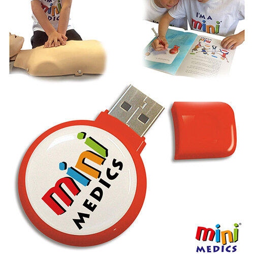 Click Medical Mini Medics USB Training Package Ref CM1180