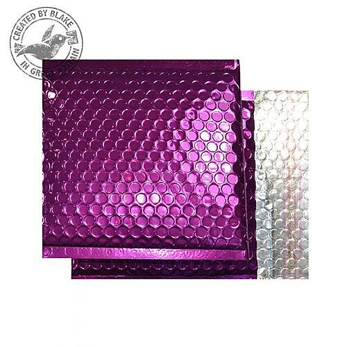 Purely Packaging Padded Envelope P& CD Metallic Purple Ref MBPUR165 [Pk 100]