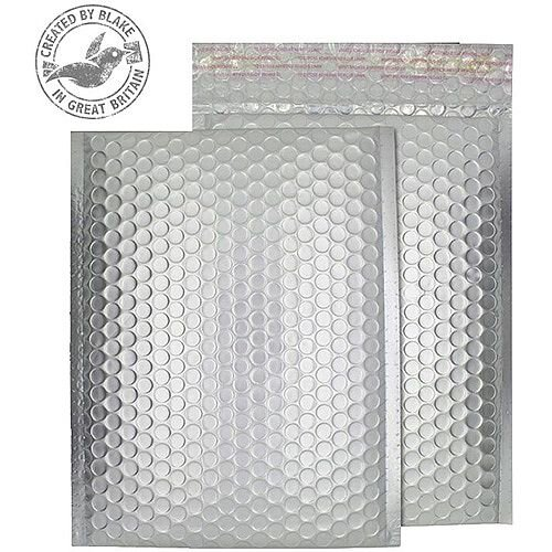 Purely Packaging Bubble Envelope P&S C3 Matt Metallic Chrome Ref MTA450 [Pk 50]