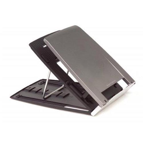 Bakker Elkhuizen Ergo-Q 330 Portable Notebook Stand Silver/Black
