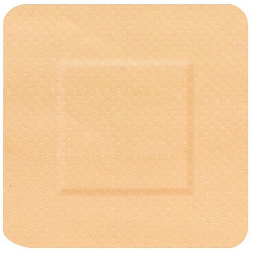 Click Medical Hygioplast Waterproof Square Plasters Beige Pack of 100 Ref CM0535