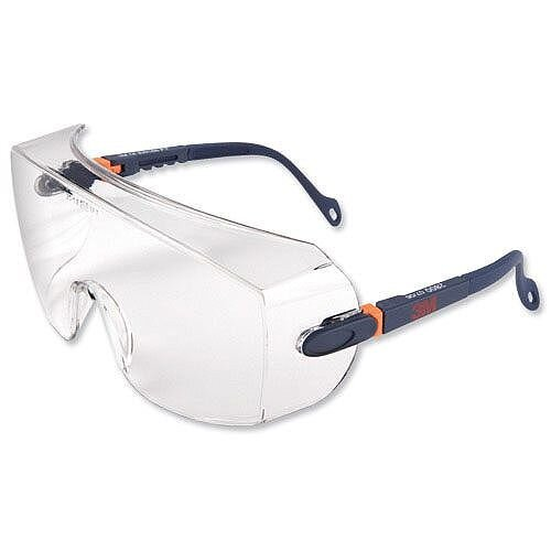 Over Glasses Safety Glasses With Brow Protection Class 1 3M 2800