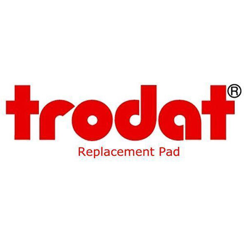 Trodat Multi-word Replacement Pads for Trodat Printy 4750 Pack of 2 Ref 851272