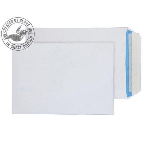 Blake Purely Everyday C5 Peel and Seal 229mm x 162mm 110g/m2 Pocket Envelopes White Pack of 500 Ref 4031122
