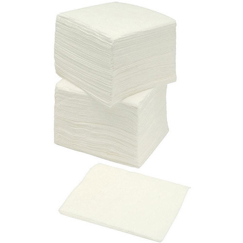 5 Star Facilities Napkins 400x400mm Two-Ply White Pack of 100