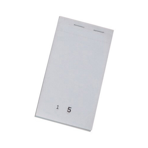 Duplicate Service Pad Numbered 1-50 and Perforated 140x76mm