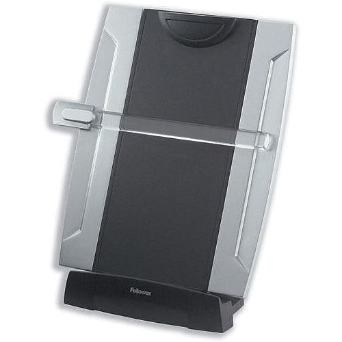 Fellowes Copy Holder with Movable Ruler Guide