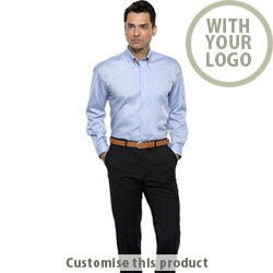 Long SLeeve Oxford Shirt 175617 - Customise with your brand, logo or promo text