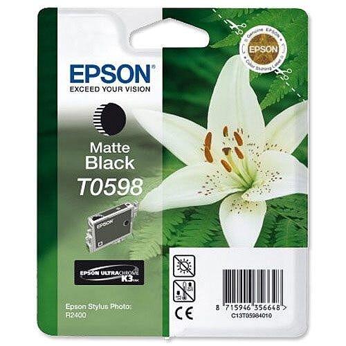 Epson T0598 Matte Black Ink Cartridge