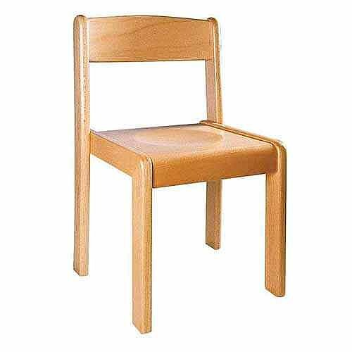 Wooden Chairs Natural 38Cm