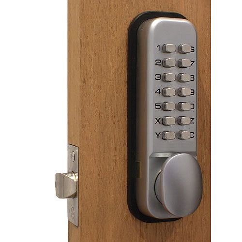 Keypad Door Lock with Fail-safe and 4000 Possible Combinations