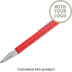 Mini Construction Pen 186748 - Customise with your brand, logo or promo text