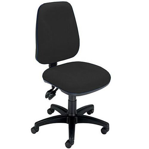 Permanent Contact High Back Task Operators Office Chair Charcoal Trexus Intro