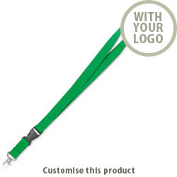 Lanyard with metal hook MO8595-09 190098 - Customise with your brand, logo or promo text