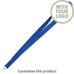 Two tone lanyard MO8597-37 190114 - Customise with your brand, logo or promo text