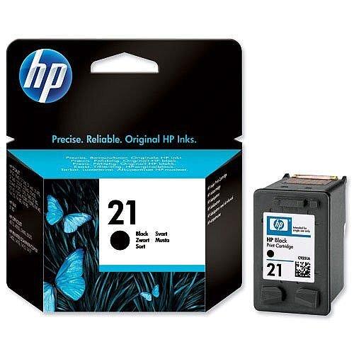 HP 21 Black Inkjet Cartridge C9351AE