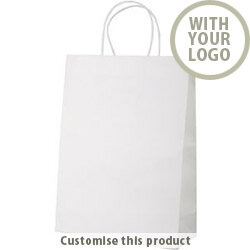 Mall paper bag 196246 - Customise with your brand, logo or promo text