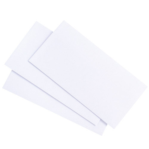 DL+ White Gummed Envelope 90gsm non windowed Pack of 500
